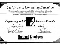 Organizing Accounts Payable 6-2014